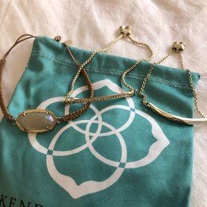 Kendra Scott Stackable Adjustable Bracelets